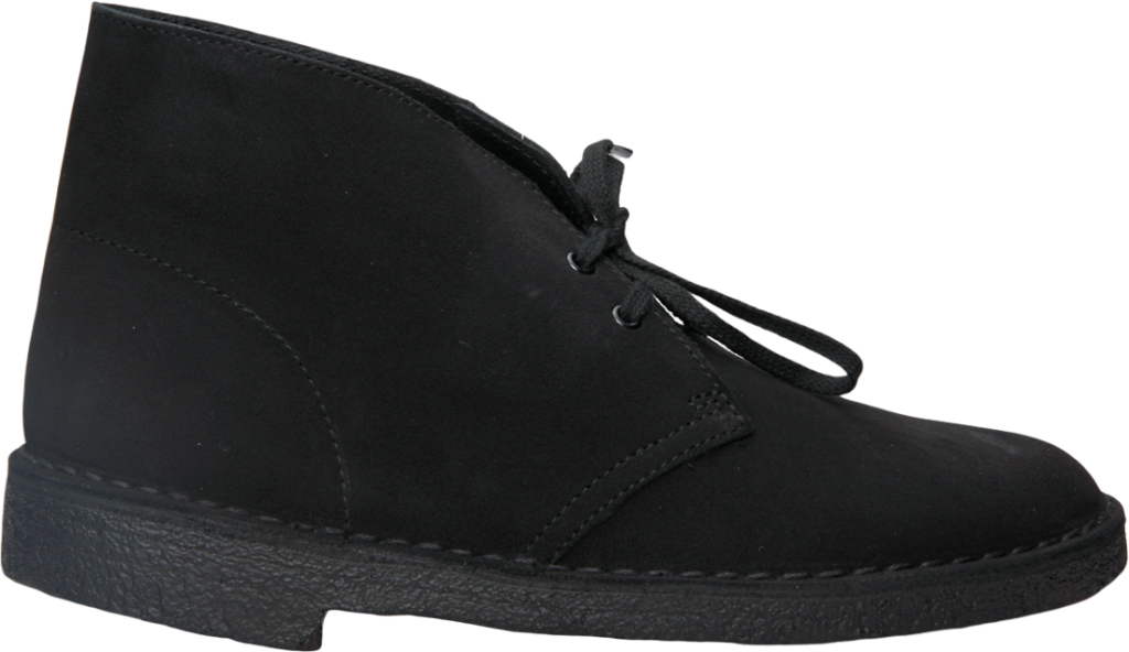 Clarks Desert Boot Black Suede