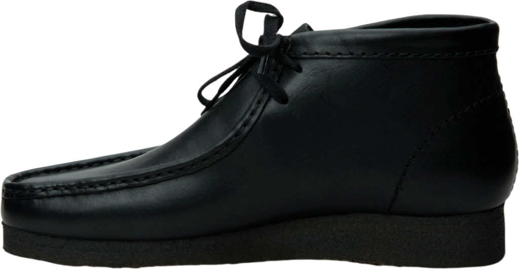 Clarks Wallabee Boot Leather Black