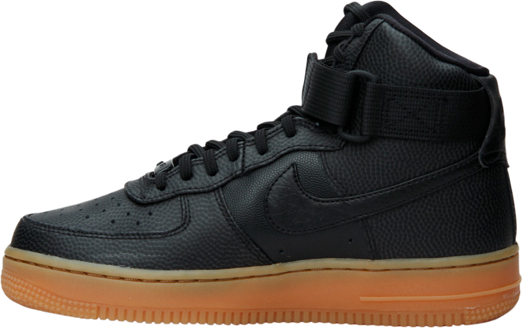 Nike Wmns Air Force 1 Hi Se BlkBlk Karltex.se