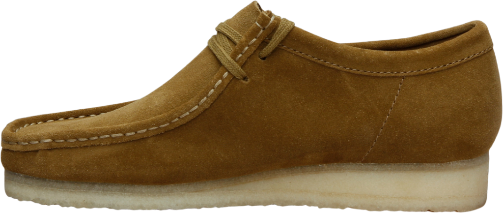 Clarks Wallabee Olive Suede