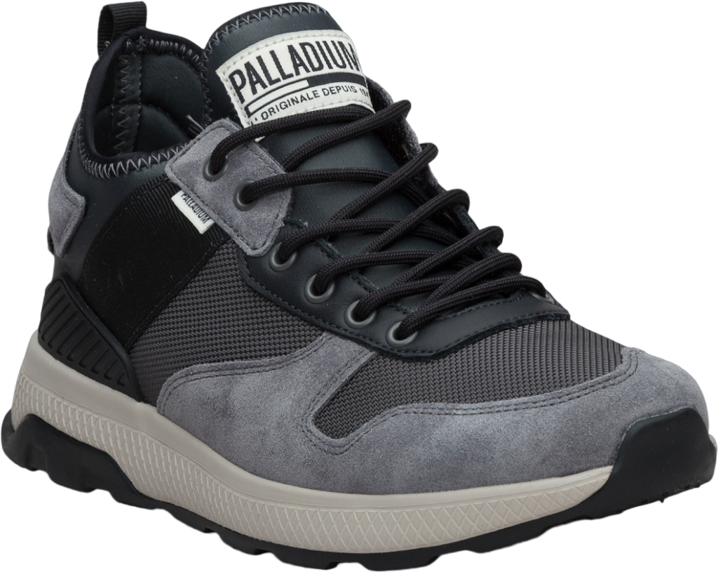 Palladium Axeon Army Runner Asphalt