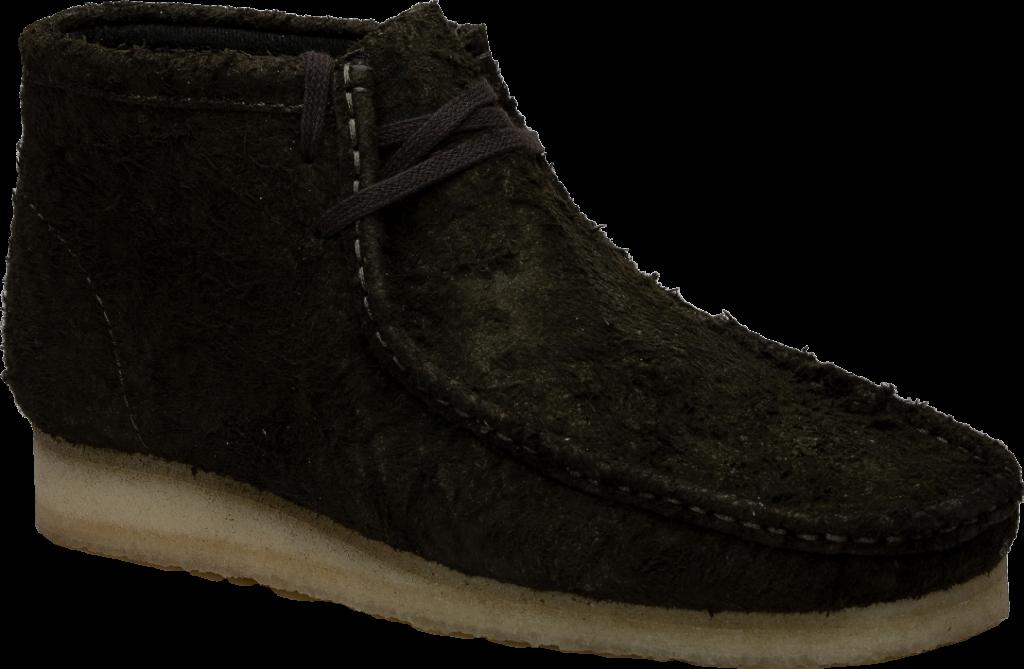 Clarks Wallabee Boot Dark Green