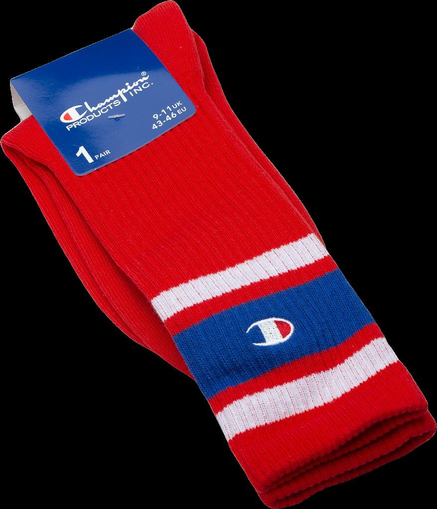 Champion Crew Socks Red