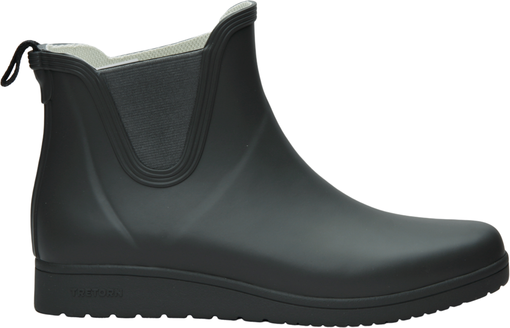 Tretorn Charlie Rubber Boots Dam gunmetal