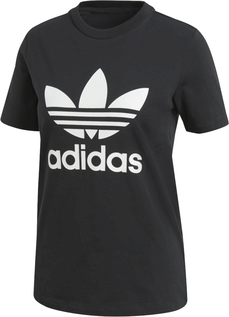 Adidas Trefoil Tee Black/White
