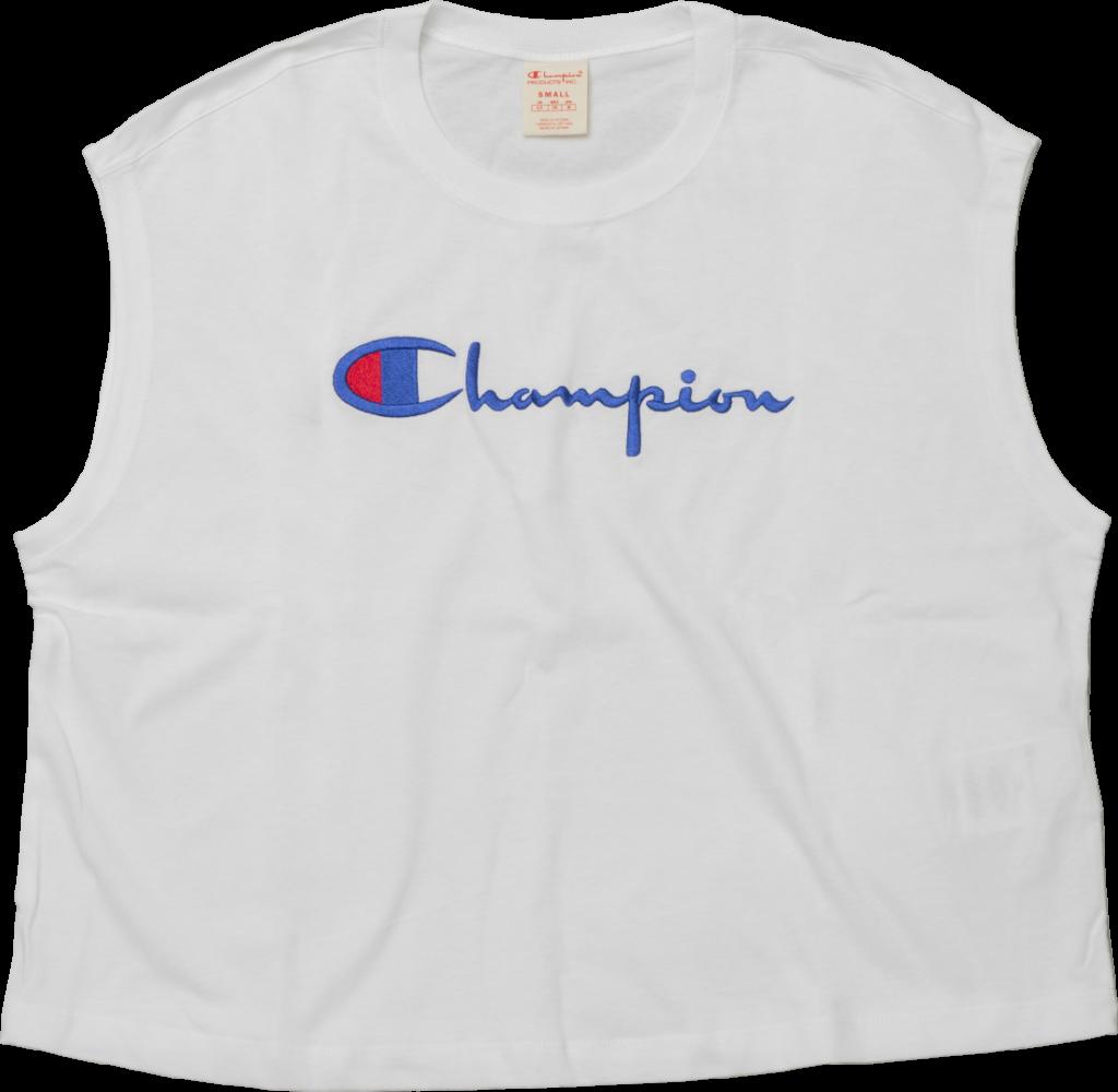 Champion T-Shirt Maxi White