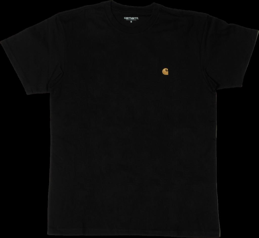 Carhartt WIP Chase T-shirt Black